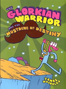 GLORKIAN WARRIOR GN VOL 03 MUSTACHE OF DESTINY