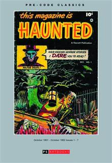 PRE CODE CLASSIC THIS MAGAZINE IS HAUNTED HC VOL 01