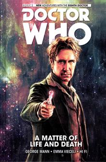 DOCTOR WHO 8TH HC VOL 01 MATTER OF LIFE AND DEATH