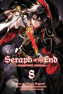 SERAPH OF END VAMPIRE REIGN GN VOL 08