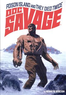 DOC SAVAGE DOUBLE NOVEL VOL 39 BAMA VAR CVR