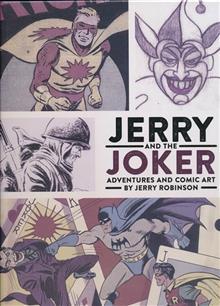 JERRY & JOKER ADVENTURES & COMIC ART HC
