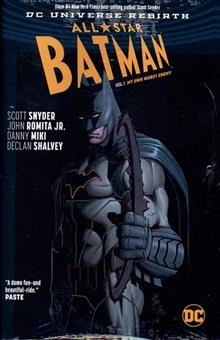 ALL STAR BATMAN HC VOL 01 MY OWN WORST ENEMY (REBIRTH)