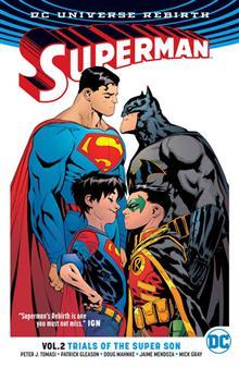 SUPERMAN TP VOL 02 TRIALS OF THE SUPER SON (REBIRTH)