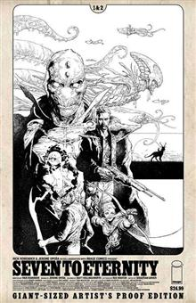 IMAGE GIANT SIZED ARTIST PROOF SEVEN TO ETERNITY #1