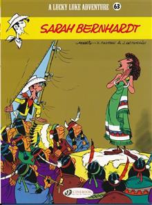 LUCKY LUKE TP VOL 63 SARAH BERNHARDT