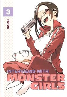INTERVIEWS WITH MONSTER GIRLS GN VOL 03