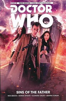 DOCTOR WHO 10TH TP VOL 06 SINS OF THE FATHER