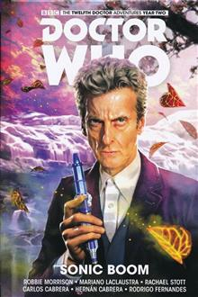 DOCTOR WHO 12TH HC VOL 06 SONIC BOOM