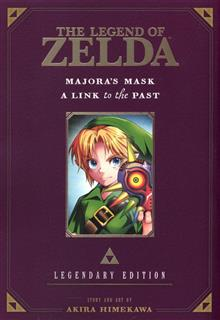 LEGEND OF ZELDA LEGENDARY ED GN VOL 03 MAJORA MASK LINK PAST