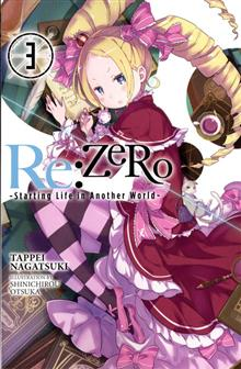 RE ZERO LIGHT NOVEL VOL 03 STARTING LIFE IN ANOTHER WORLD