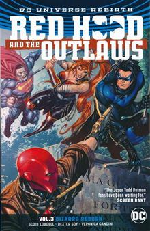 RED HOOD & THE OUTLAWS TP VOL 03 BIZARRO REBORN REBIRTH