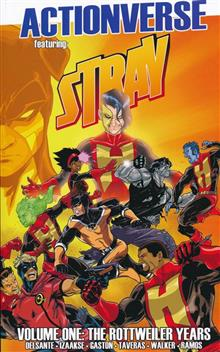 ACTIONVERSE TP VOL 01 STRAY ROTTWEILER YEARS