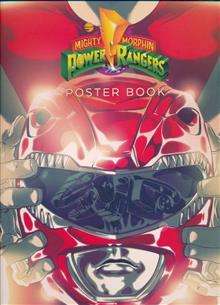 MIGHTY MORPHIN POWER RANGERS & ZORDS POSTER SC