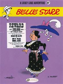 LUCKY LUKE TP VOL 67 BELLE STARR