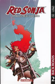 RED SONJA WORLDS AWAY TP VOL 02
