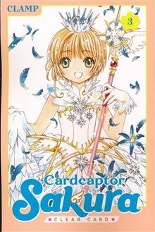 CARDCAPTOR SAKURA CLEAR CARD GN VOL 03