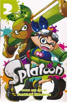 SPLATOON MANGA GN VOL 02