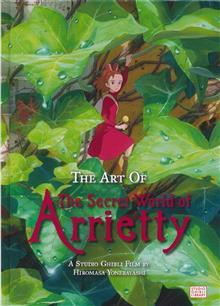 ART OF SECRET WORLD OF ARRIETTY HC