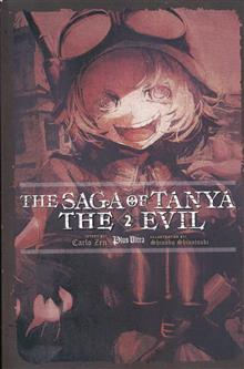 SAGA OF TANYA EVIL LIGHT NOVEL SC VOL 02
