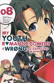 YOUTH ROMANTIC COMEDY WRONG EXPECTED GN VOL 08