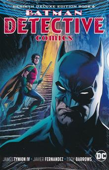BATMAN DETECTIVE REBIRTH DLX COLL HC BOOK 04