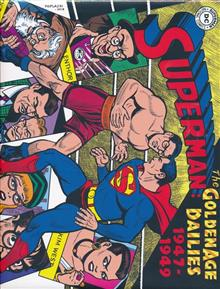 SUPERMAN THE GOLDEN AGE NEWSPAPER DAILIES HC 1947-1949