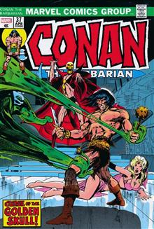 CONAN THE BARBARIAN ORIGINAL MARVEL YEARS OMNIBUS HC VOL 02 DM VARIANT