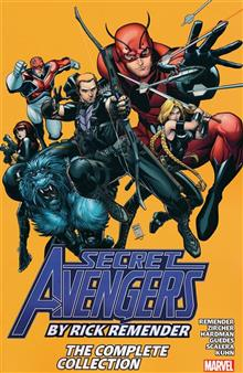 SECRET AVENGERS BY REMENDER TP COMPLETE COLLECTION