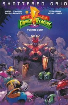 MIGHTY MORPHIN POWER RANGERS TP VOL 08 SG