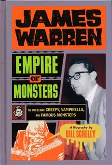 JAMES WARREN HC EMPIRE OF MONSTERS CREEPY VAMPIRELLA (OCT188
