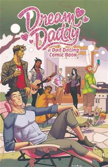 DREAM DADDY DAD DATING COMIC BOOK TP