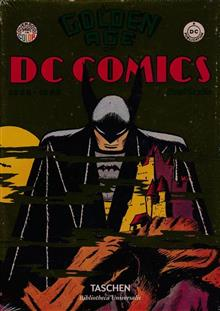 TASCHEN GOLDEN AGE OF DC COMICS BIBLIOTHECA ED