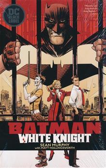 BATMAN WHITE KNIGHT HC