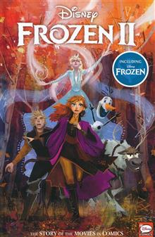 DISNEY FROZEN 2 STORY OF THE MOVIES IN COMICS HC