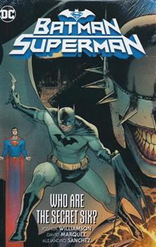 BATMAN SUPERMAN HC VOL 01 WHO ARE THE SECRET SIX