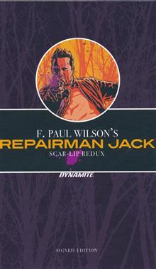 F PAUL WILSON REPAIRMAN JACK SCAR LIP REDUX HC SGN ED