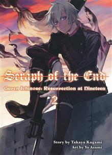 SERAPH OF END GUREN ICHINOSE RESURRECTION AT 19 NOVEL VOL 02