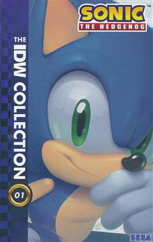 SONIC THE HEDGEHOG IDW COLLECTION HC VOL 01