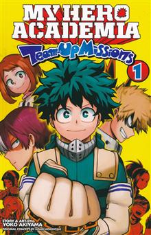 MY HERO ACADEMIA TEAM-UP MISSIONS GN VOL 01
