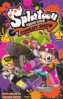 SPLATOON SQUID KIDS COMEDY SHOW GN VOL 03