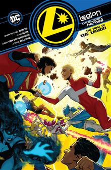 LEGION OF SUPER-HEROES VOL 2 TRIAL OF THE LEGION TP