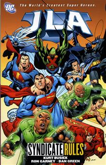 JLA VOL 17 SYNDICATE RULES TP