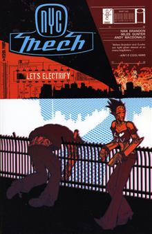 NYC MECH TP VOL 01 LETS ELECTRIFY