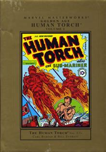 MMW GOLDEN AGE HUMAN TORCH HC VOL 01 NEW ED