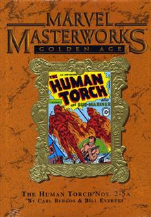 MARVEL MASTERWORKS GOLDEN AGE HUMAN TORCH VOL 1 HC Variant