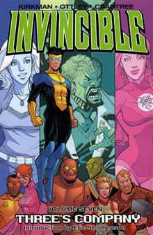INVINCIBLE VOL 7 THREES COMPANY TP
