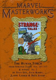 MARVEL MASTERWORKS HUMAN TORCH VOL 1 HC VAR ED 66
