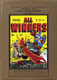 MARVEL-MASTERWORKS-GOLDEN-AGE-ALL-WINNERS-VOL-2-NE-ED-HC-
