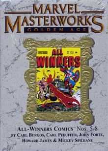 MARVEL MASTERWORKS GOLDEN AGE ALL WINNERS VOL 2 HC VAR ED 71